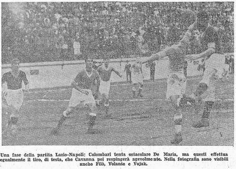 1931-32. Lazio-Napoli 0-2