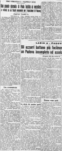 1932-33. Pro Vercelli-Napoli 2-1. Il Littoriale